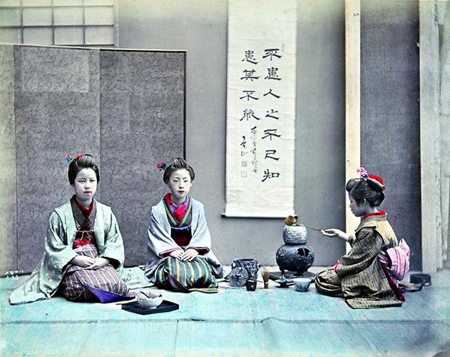 Shinichi Suzuki II, Tea Ceremony, 1880's ©MNAA – Guimet, Paris.