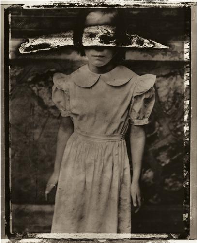 The lock's girl, 1990 © Sarah Moon
